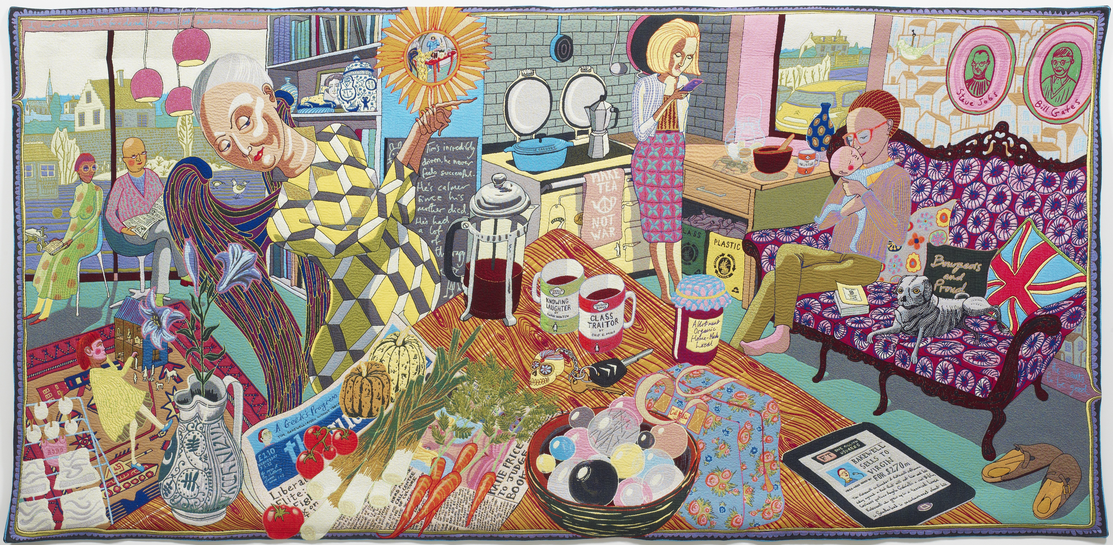 Copyright: © Grayson Perry. Courtesy: Courtesy the Artist and Victoria Miro, London